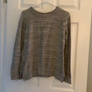 Anthropologie gray light weight sweater. Large